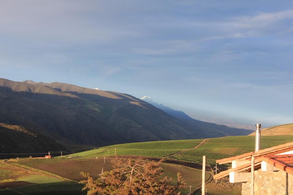 Cumbres nevadas del Pico Bolívar y Pico El Toro