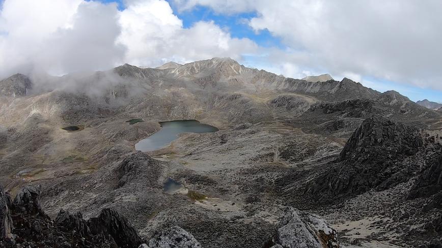 Laguna La Escopeta 4300 m.s.n.m