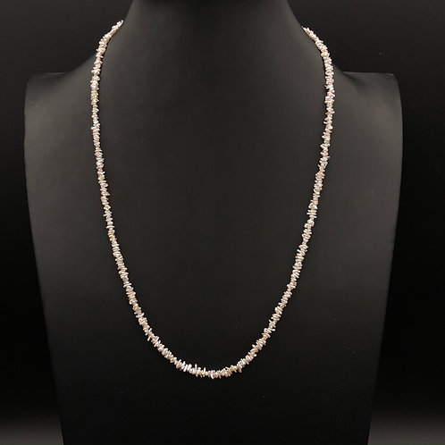 Natural Keshi Pearl Necklace