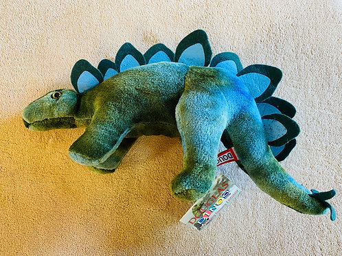 Green Stegosaurus Dinosaur