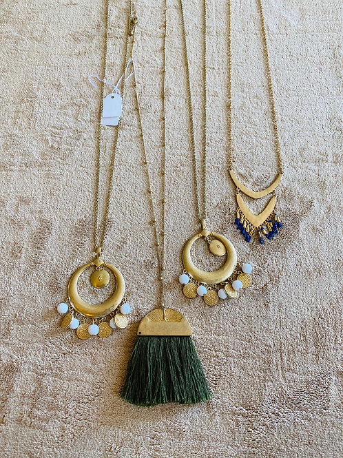 Long Fall Necklaces