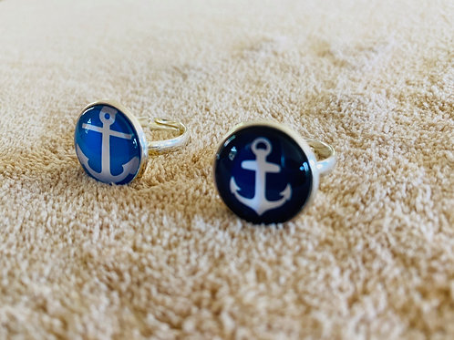 Blue Anchor Rings