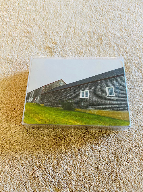 Choate Island Barn Card Deck