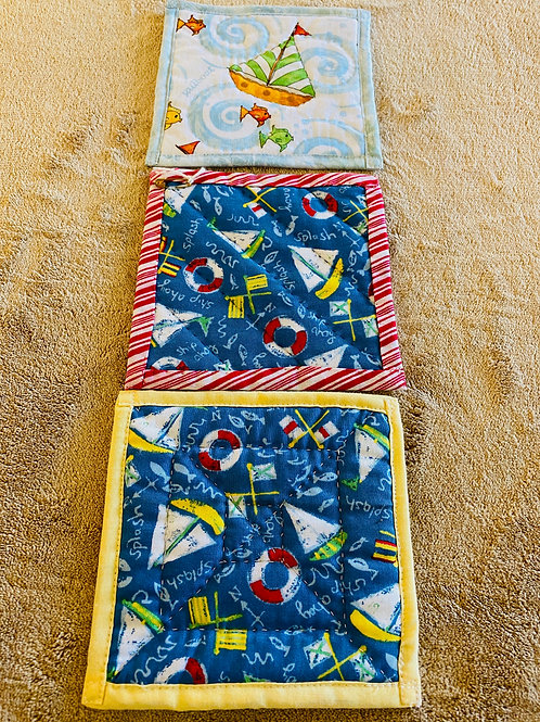 Handmade Quilted Coaster