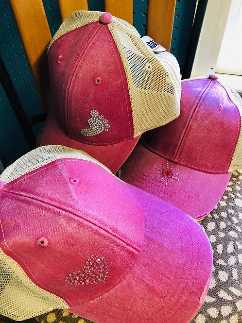 Embellished Trucker Baseball Caps