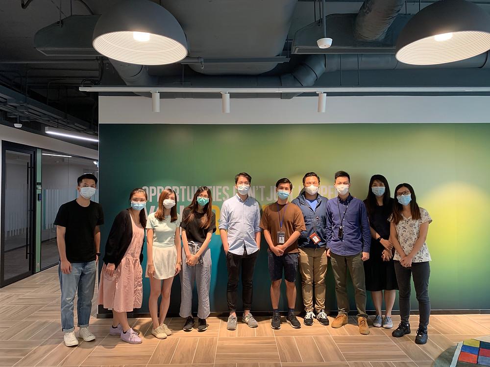 與Generation HK 學生第一次 Live Project 見面