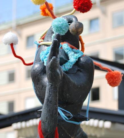 """""""Kasper"""" på Medborgarplatsen"""