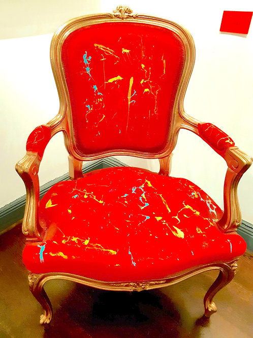 Röd Rokoko
