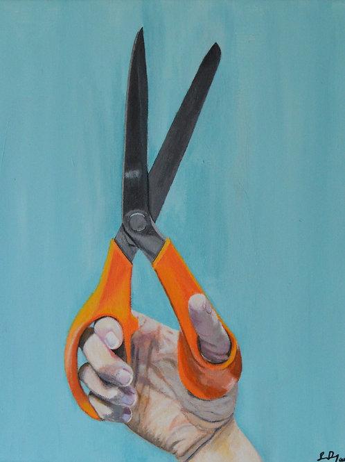 Handen och saxen