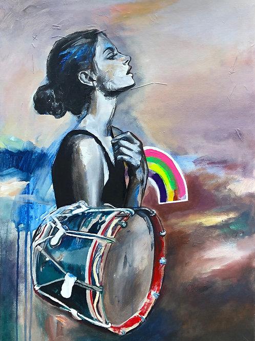 Rainbow Drummer