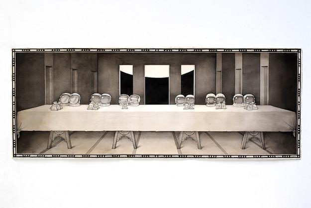 David Redfern (b. 1947) 'The Twelve', made in 2019, 38 x 99 cms