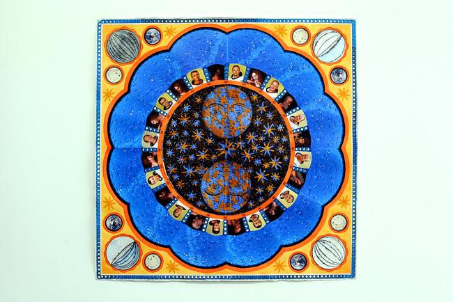 'Apollo or Apostles', 2020, 76 x 76 cm