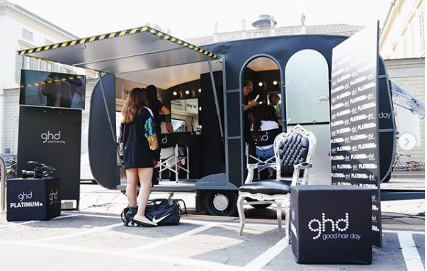 Ghd Styling Park Milano Fashion Week