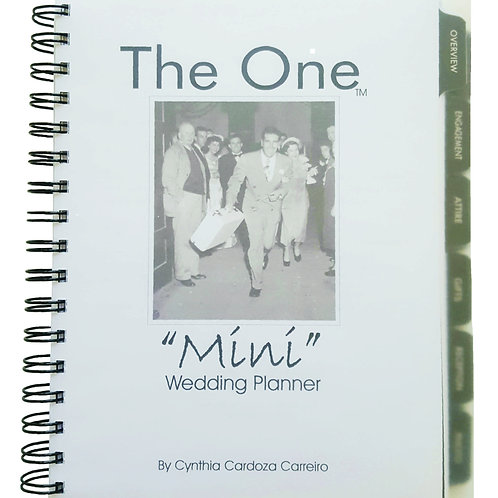 "THE ONE ""Mini"" Wedding Planner"