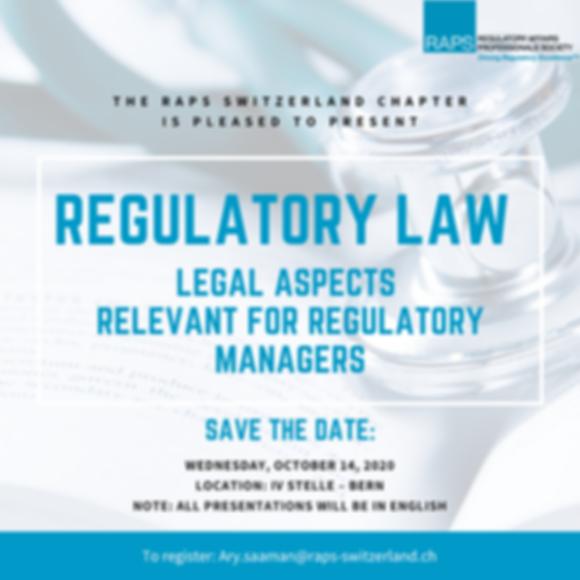 Regulatory Law - SaveTheDate - Flyer-VMa