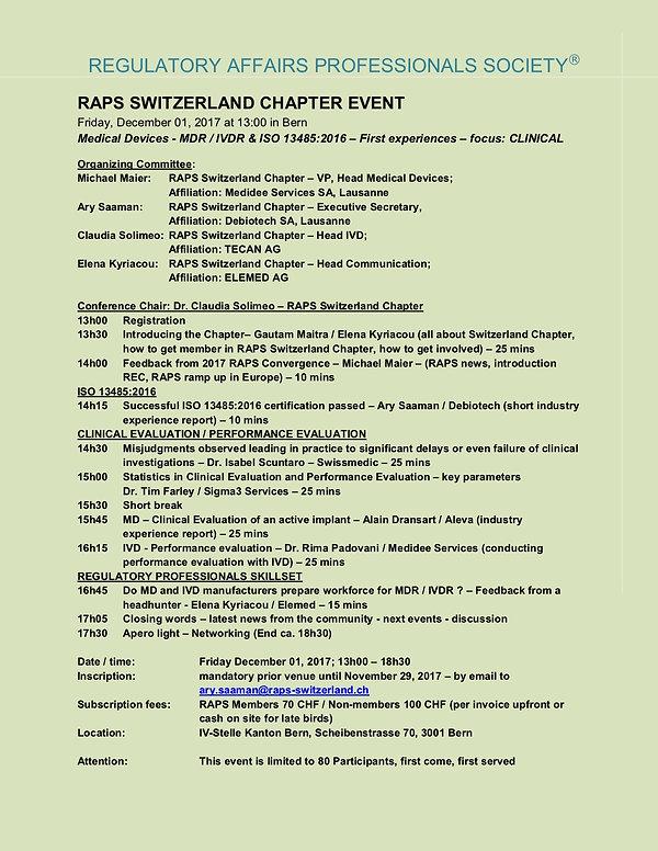 Medical Devices - Flyers p. 1 - Dec 01 2