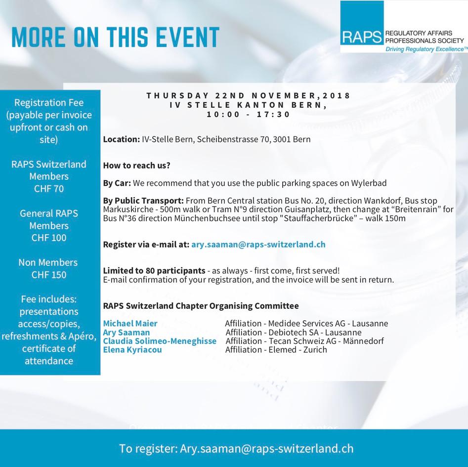 MDR-IVDR Event - Flyers p. 3 - Nov 22 20