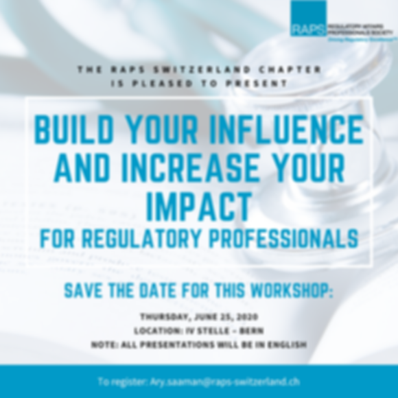 Build your Influence - SaveTheDate -Flye