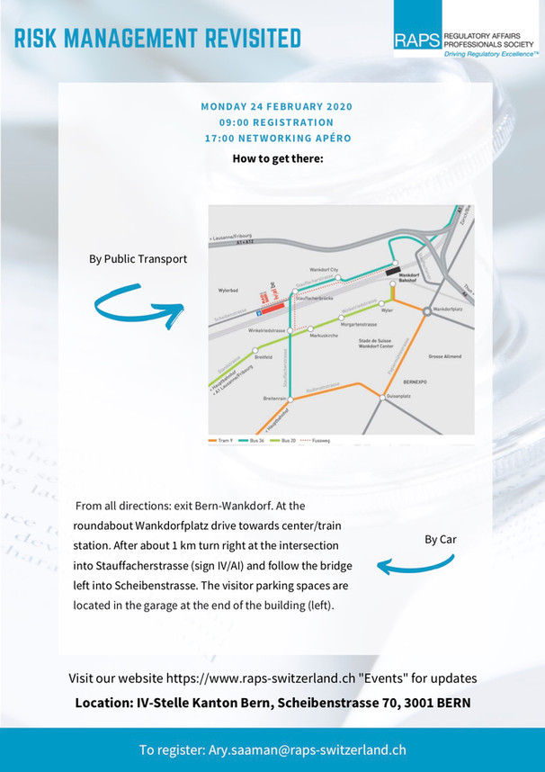 5) RAPS-CH - Risk Management Revisited -