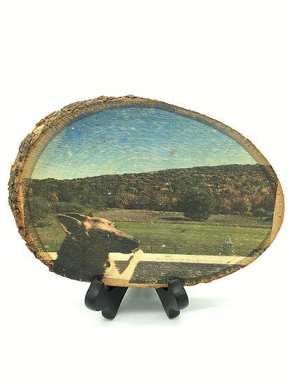 "5""-7"" Custom Rustic Wooden Photo"