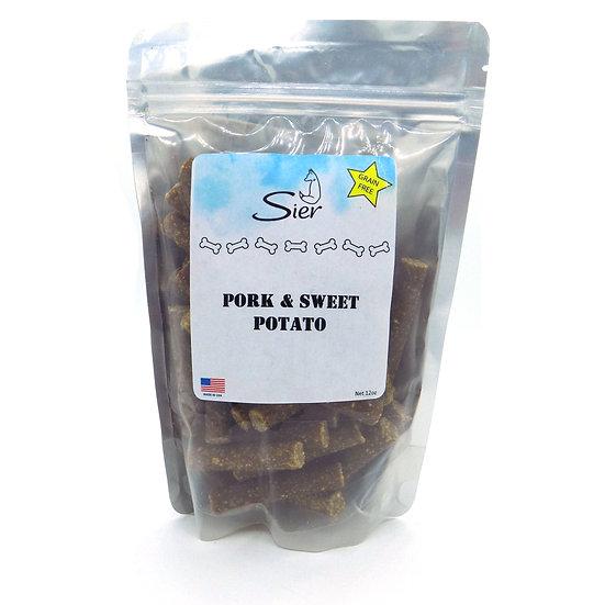 Grain Free Pork & Sweet Potato Sticks Dog Treats 12oz