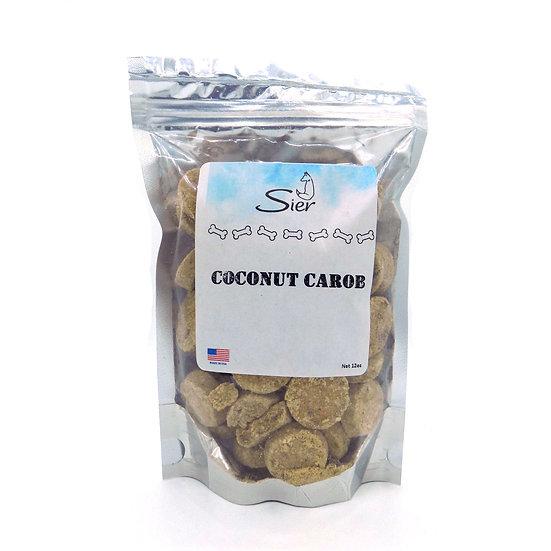 Coconut Carob Dog Treats 12oz