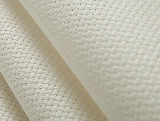 First things first, the AIDA fabric!