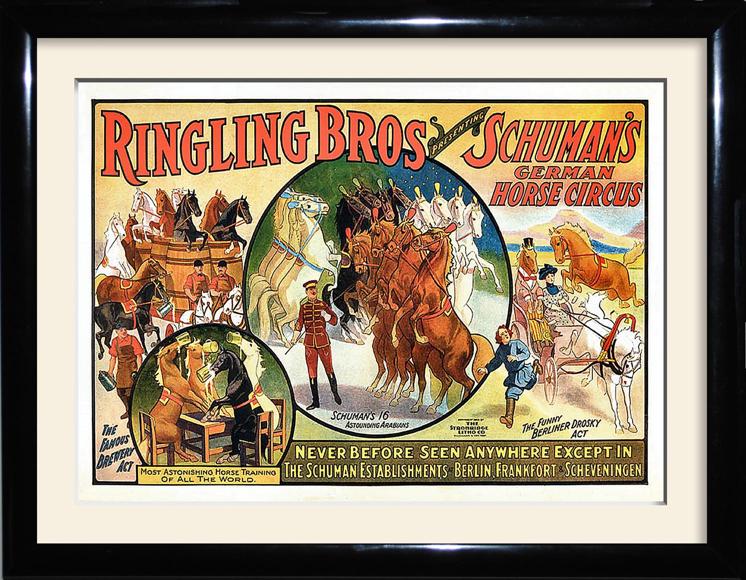 German horse circus