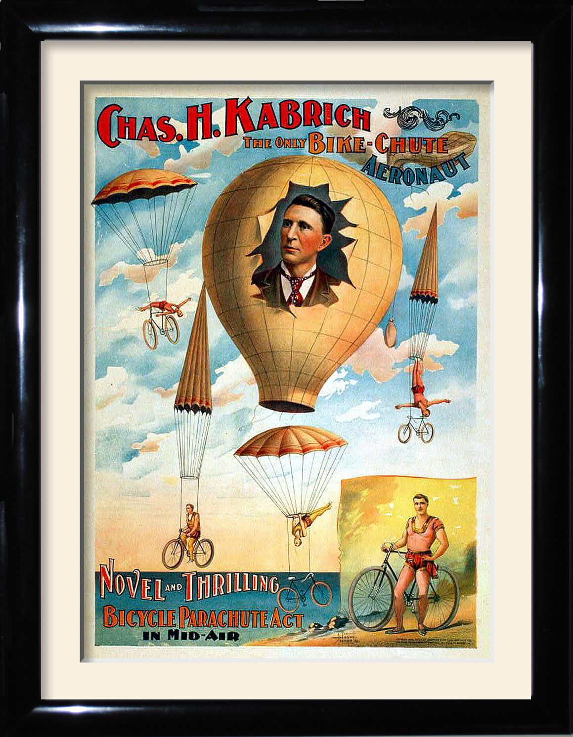 bikes balloons
