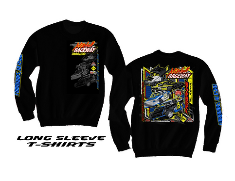 Mitchell Raceway Long Sleeve T-Shirts