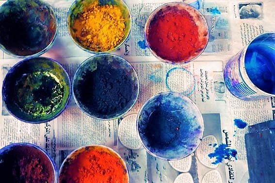 les souks des couleurs