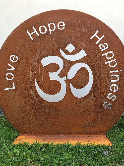 OM Love Hope Happiness