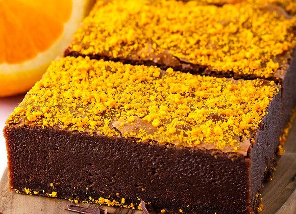 Chocolate Orange Brownies x 4