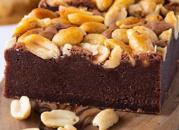 Peanut Butter Brownies x 4
