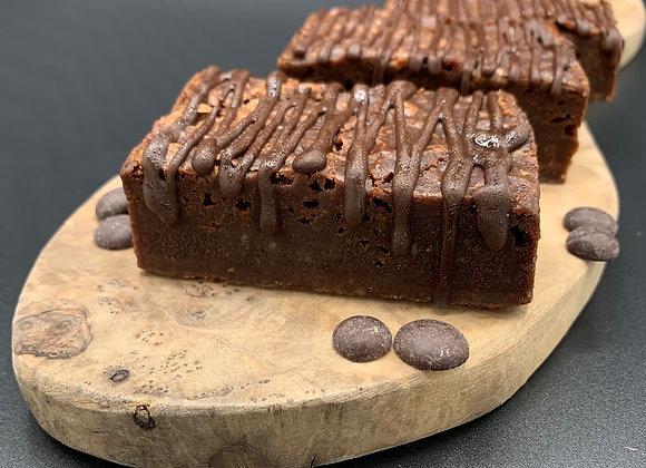 Vegan Classic Plain Brownies x 4