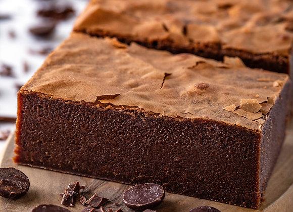 Plain Chocolate Brownies x 4