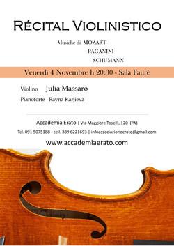 Récital Violinistico