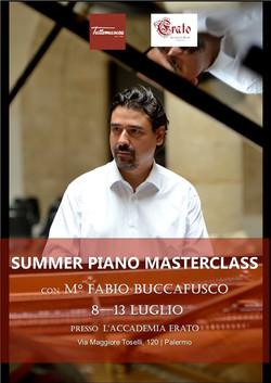 SAMMER PIANO MASTERCLASS