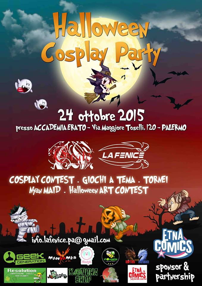 Halloween Cosplay Party