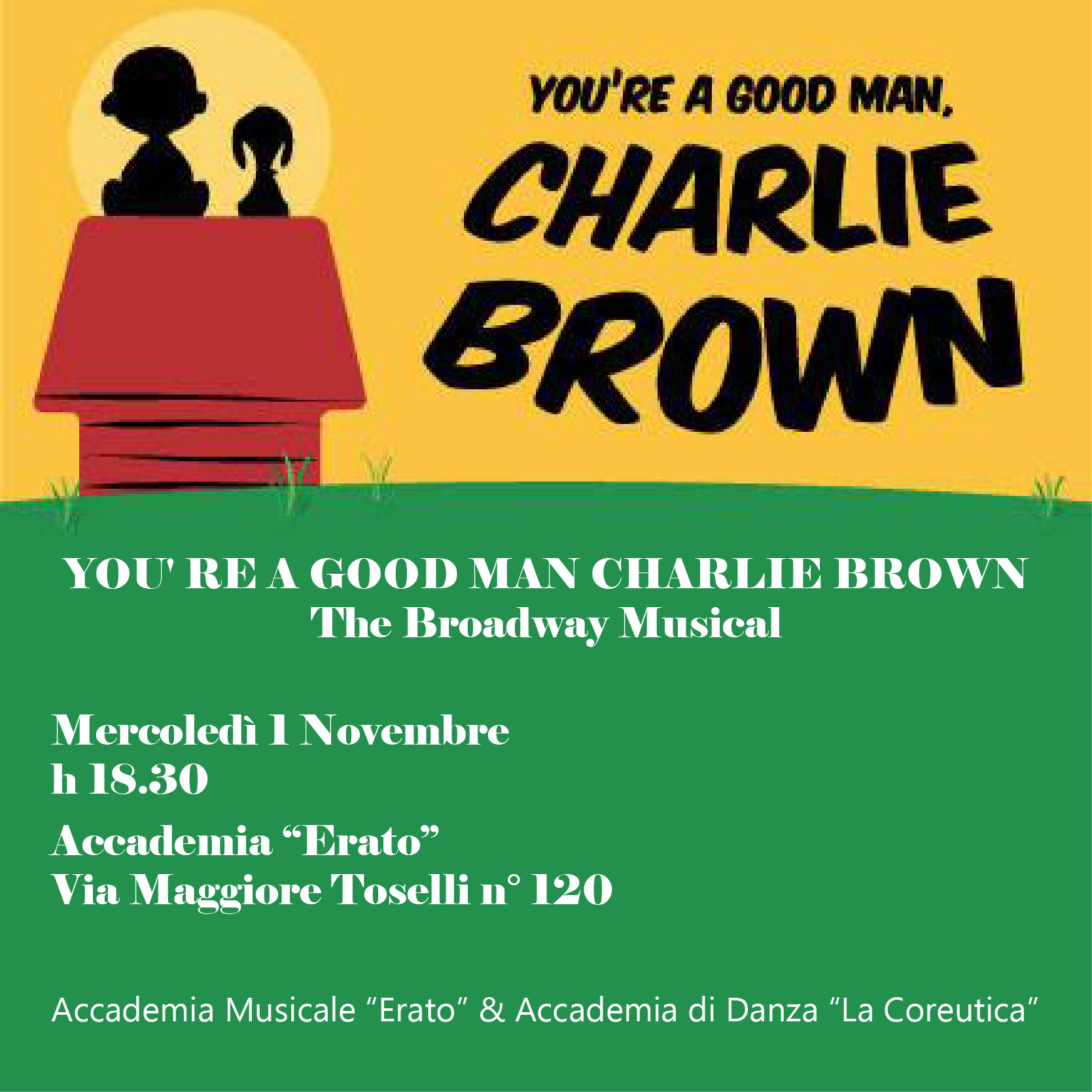 """YOU'RE A GOOD MAN, CHARLIE BROWN"""
