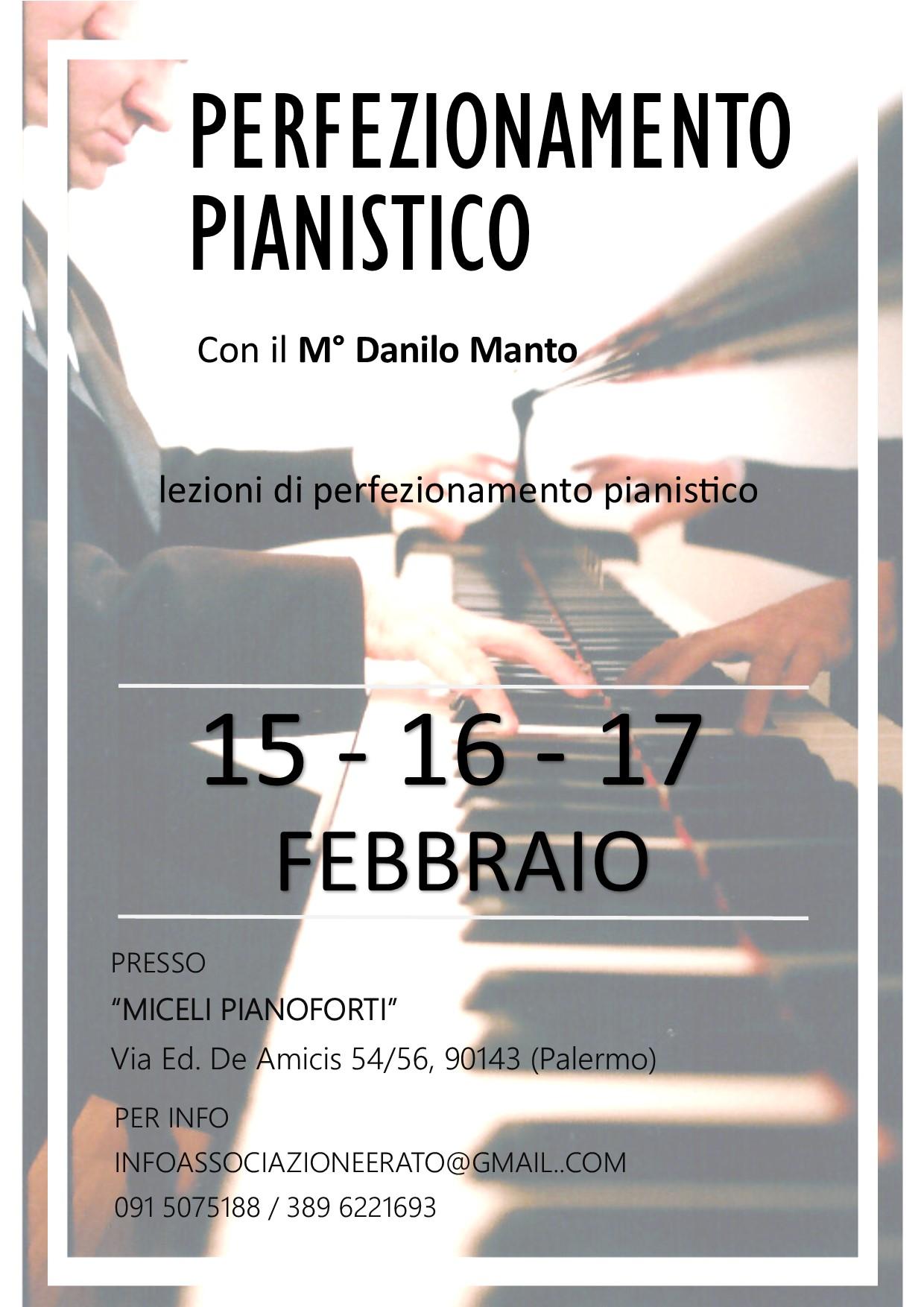 PERFEZIONAMENTO PIANISTICO