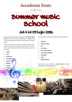 SUMMER MUSIC SCHOOL