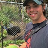 Todd with Cassowary Egg.JPG
