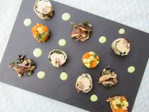 Filet de Truite de Savoie en Ballotine aux algues wakamé et shitake