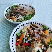 La salade de boeuf thaïe façon Bobun.