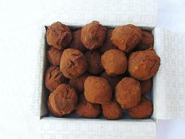 Truffes au chocolat !