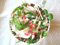 Salade de crudités d'hiver