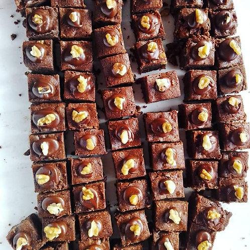 Le goûter de la semaine : brownies aux deux chocolats !