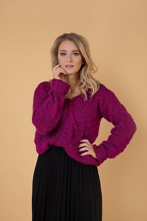 megztinis moterims V forma trikampio forma ocdeco megztinai megztas mezginiai ranku darbo megztinis ispardavimas naujiena