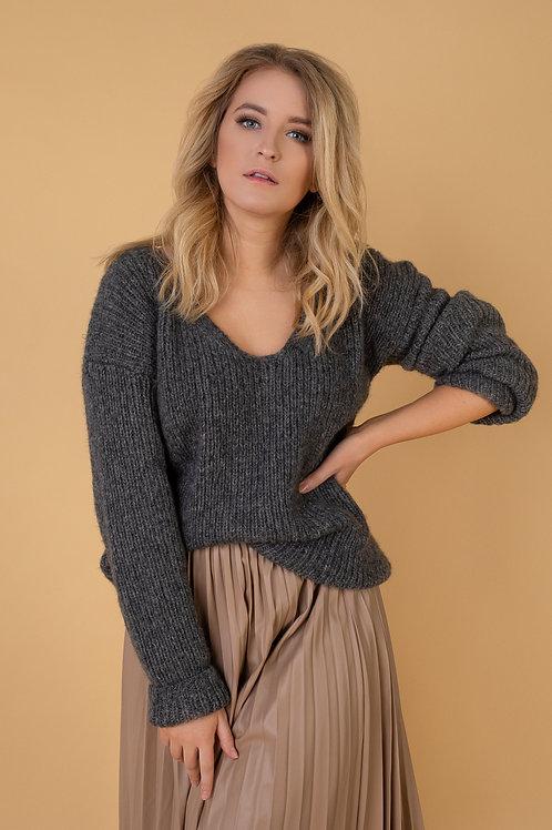 Megztinis - GREY